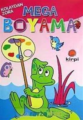 En Ucuz Mega Boyama Kitabina Bak Kirpi 9789944453080 Kitap Fiyatı
