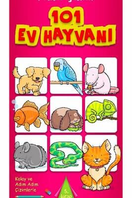 Nasıl çizilir 101 Ev Hayvanı Kitabina Bak Dan Green Kuzey