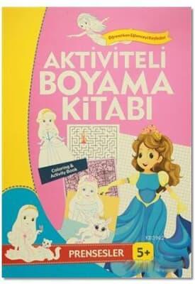 En Ucuz Aktiviteli Boyama Kitabı 5 Yaş Prensesle Kitabina Bak