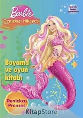 Barbie Denizkızı Hikayesi Boyama Ve Oyun Kitabina Bak Doğan