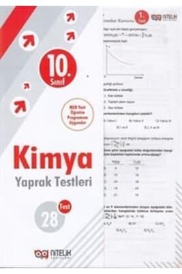 10. Sınıf Kimya Yaprak Test Nitelik Yayınları