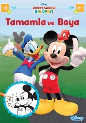 Disney Mickey Farenin Kulüp Evi Tamam Kitabina Bak Kolektif