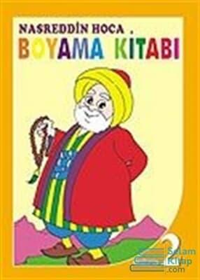 2 Nasreddin Hoca Boyama Kitabı Kitabina Bak Kardelen 9789756021361