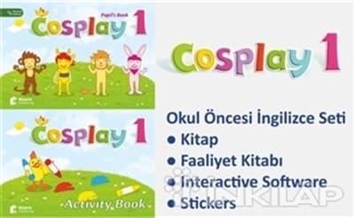 Cosplay Starter Okul öncesi Ingilizce Eğitim Kitabina Bak Başak